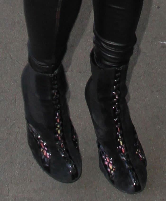 paris-hilton-alaia-patent-trim-suede-boots
