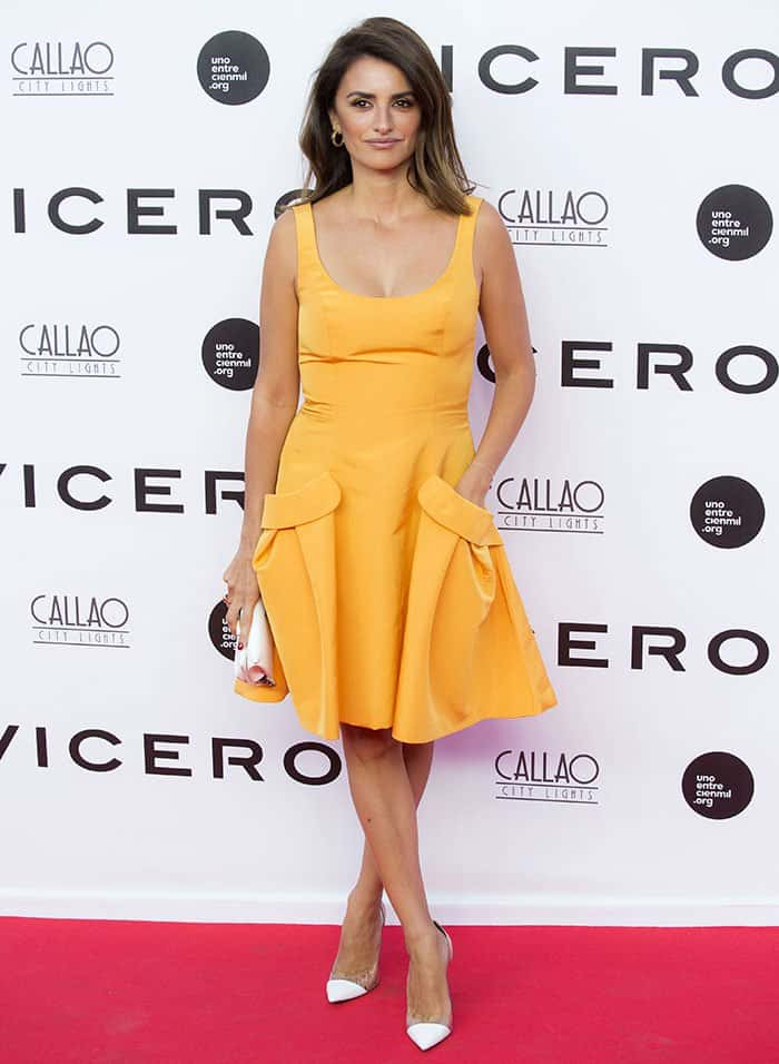 """Penelope Cruz at the premiere of her documentary """"Soy Uno Entre Cien Mil"""""""
