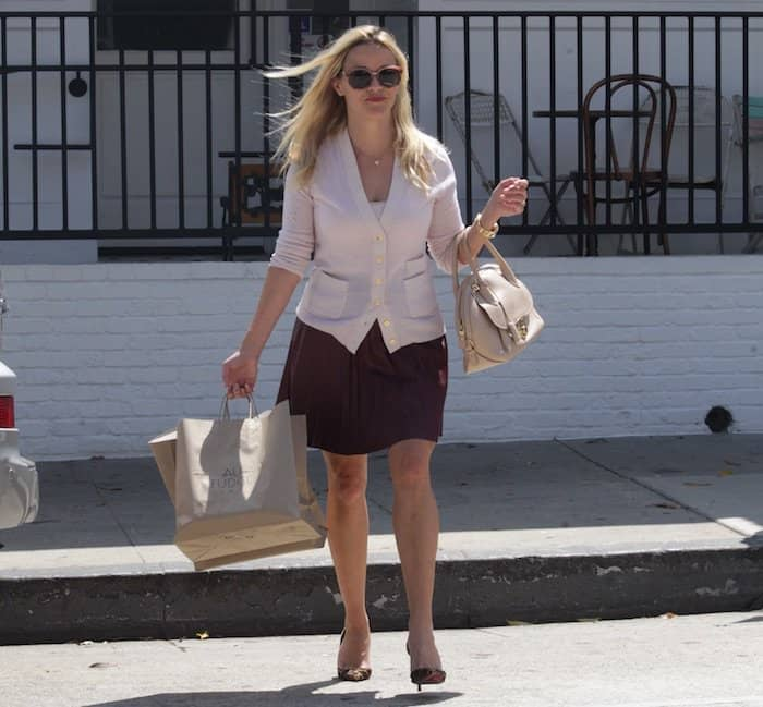 Reese Witherspoon leaving au fudge1