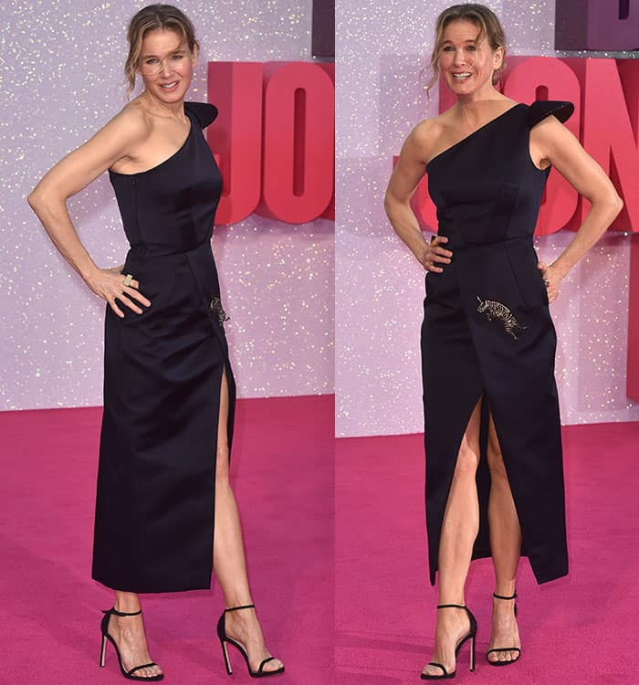 renee-zellweger-one-shoulder-slit-dress