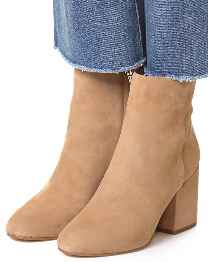 16dee02892a9 Enjoy the Fall Foliage in Sam Edelman s  Taye  Heeled Ankle Booties
