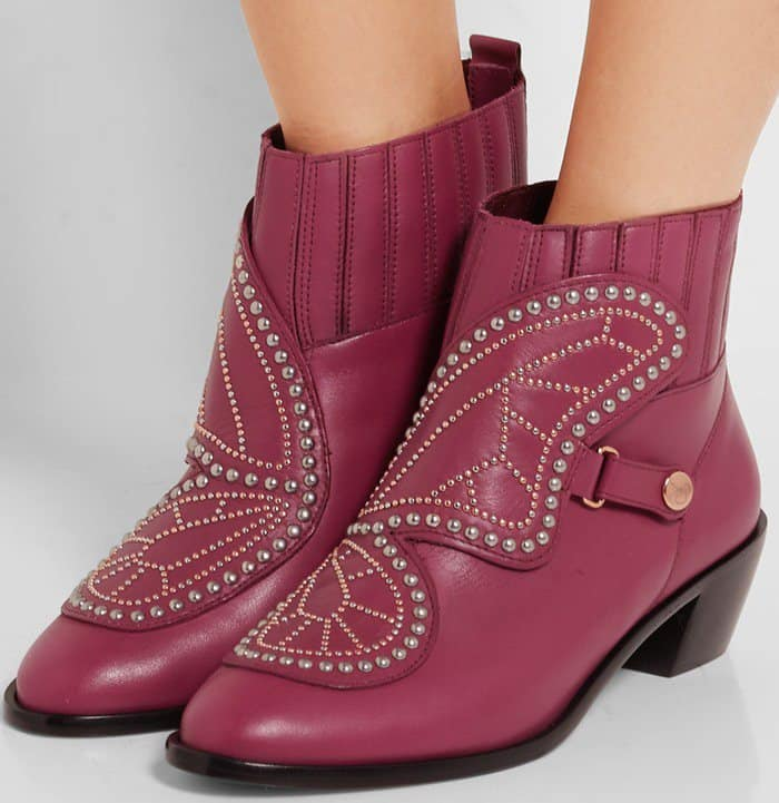 sophia-webster-karina-butterfly-studded-leather-ankle-pink-boot