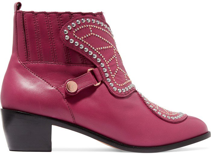 sophia-webster-karina-butterfly-studded-leather-ankle-pink-boots