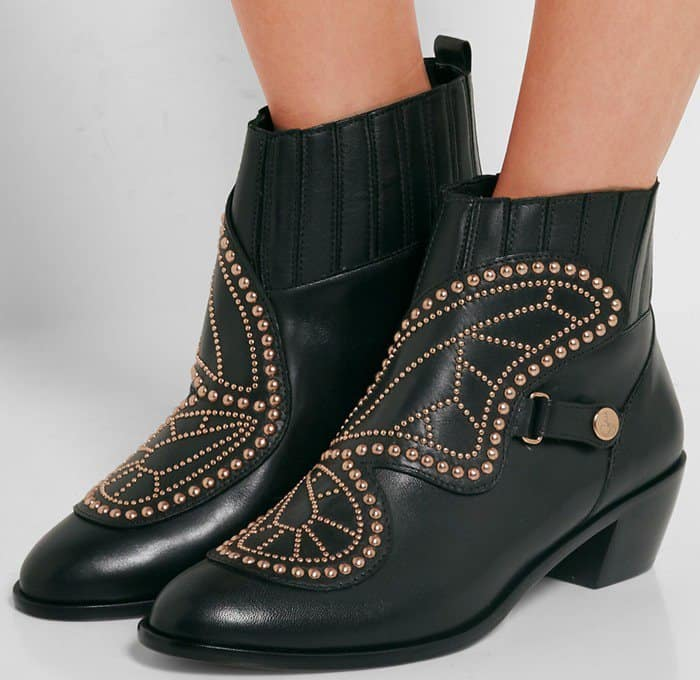 sophia-webster-karina-butterfly-studded-leather-black-boot