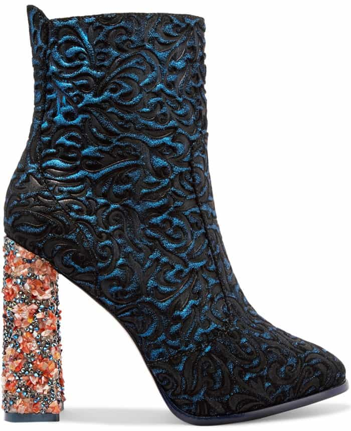 sophia-webster-kendra-jacquard-effect-leather-and-suede-ankle-boots