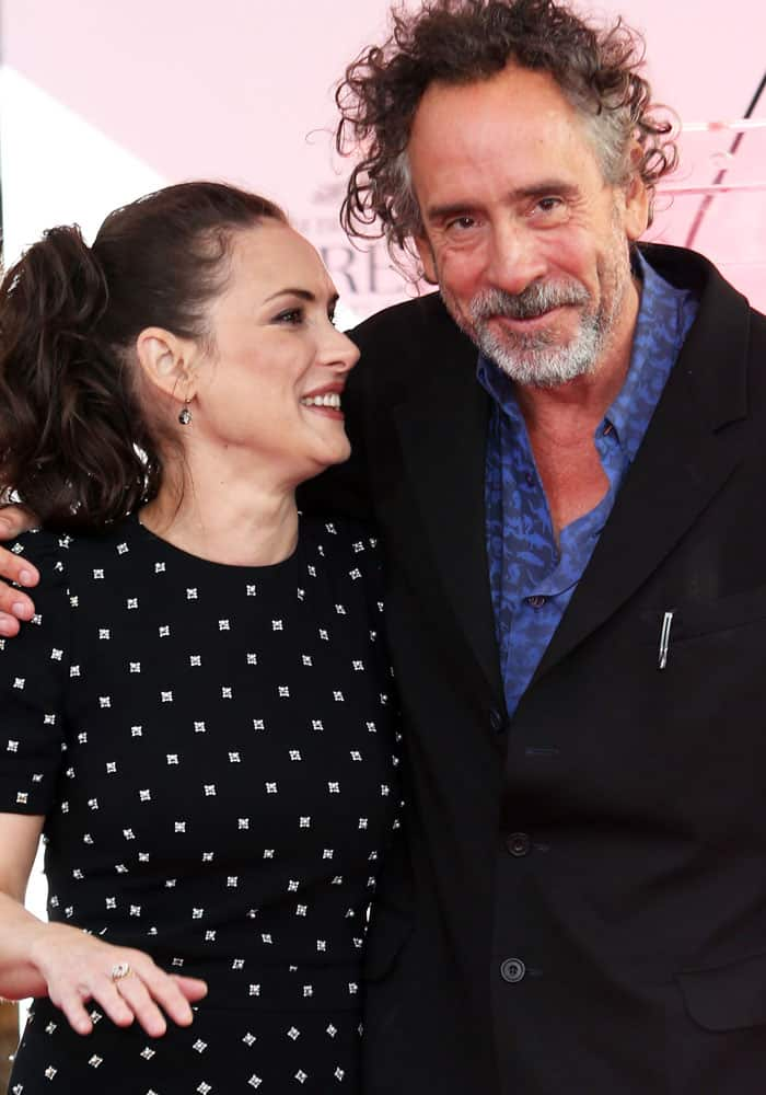 Winona Ryder honors the man who launched her career, Tim Burton