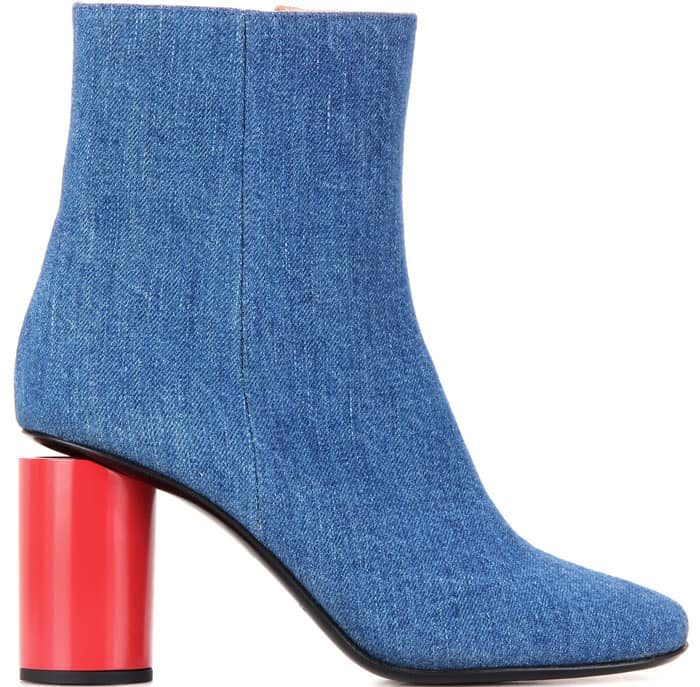 "ACNE Studios ""Althea"" Denim Ankle Boots"