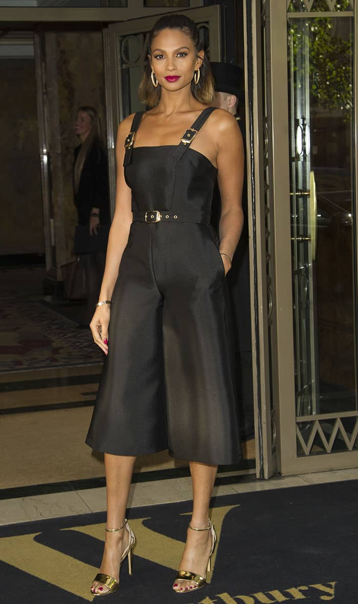 alesha-dixon-little-black-dress-presentation