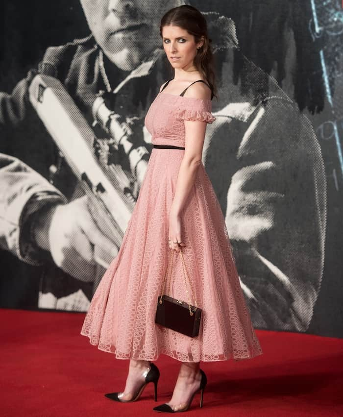 Anna Kendrick toted a Charlotte Olympia bag