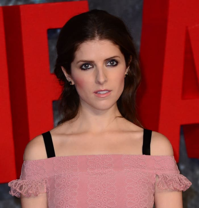 Anna Kendrick kept her makeup as sophisticated as her ensemble