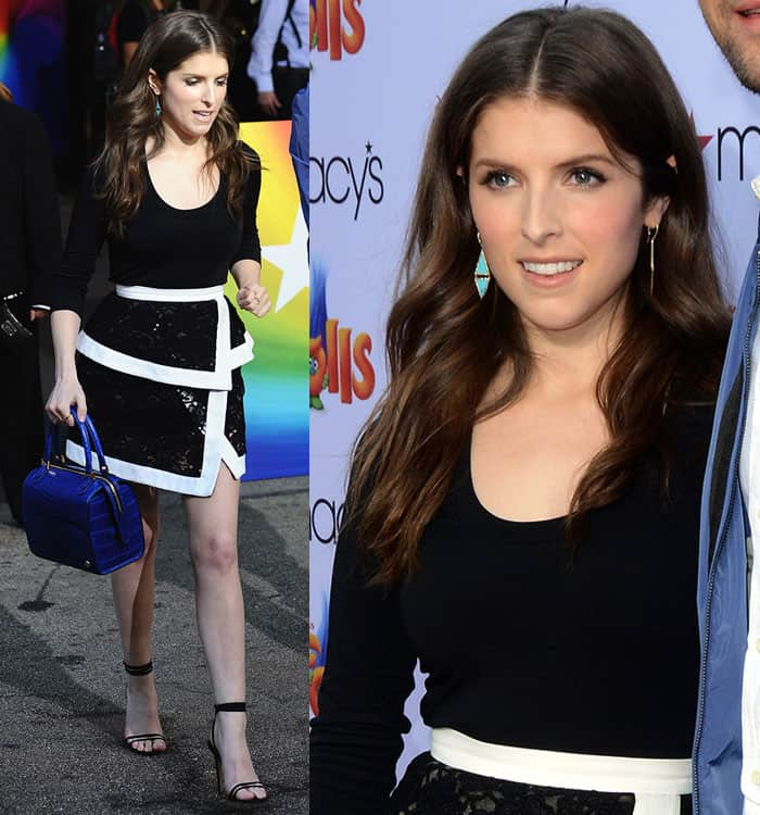 anna-kendrick-black-top-black-white-lace-mini-skirt