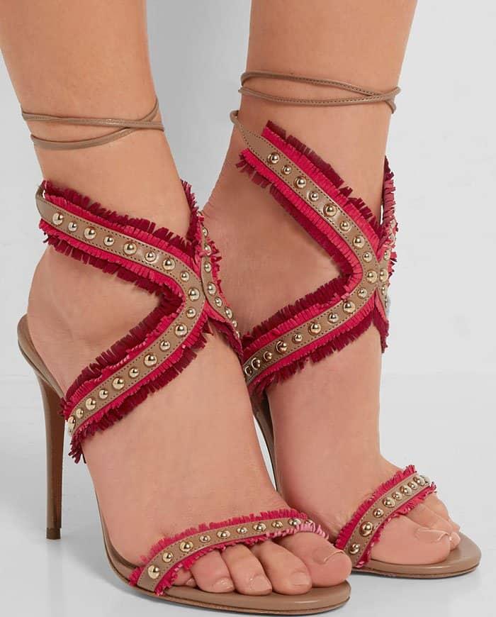 aquazzura-latin-lover-studded-fringed-suede-leather-sandals-1