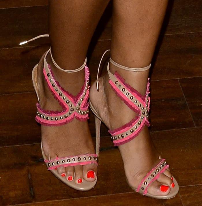 ayesha curry feet