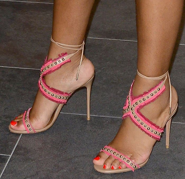 ayesha-curry-aquazzura-latin-lover-studded-fringed-sandals