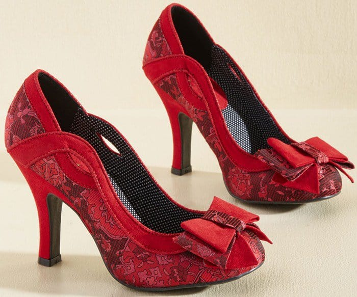 Ruby Shoo 'Bow Where the Wind Blows' Heels
