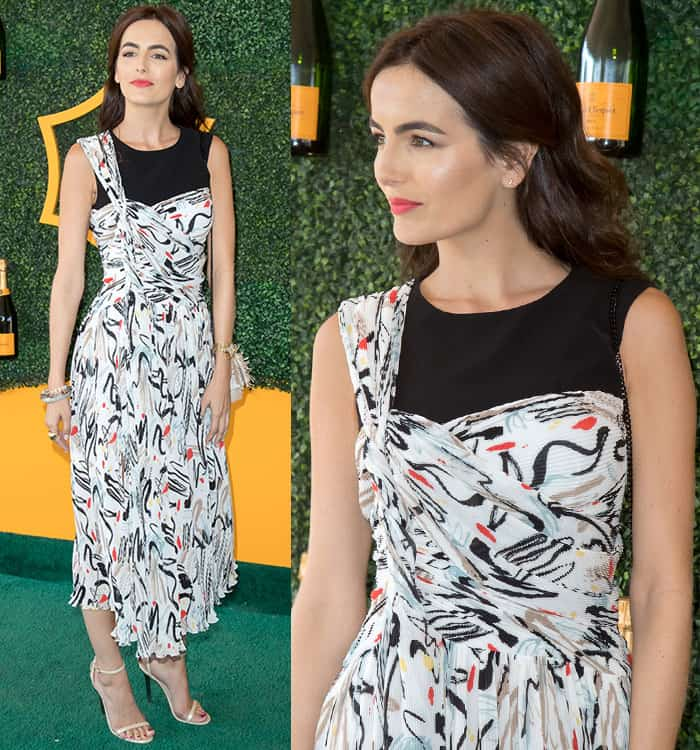 camilla-belle-adeam-printed-dress