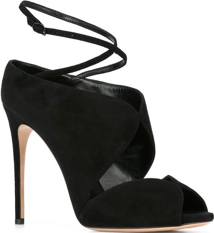 casadei-suede-ankle-strap-sandals