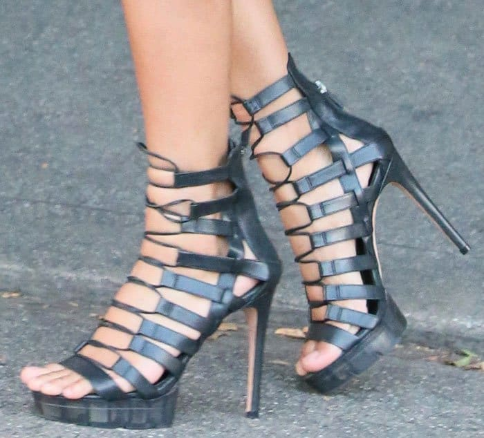 ciara-aquazzura-lace-up-sandals