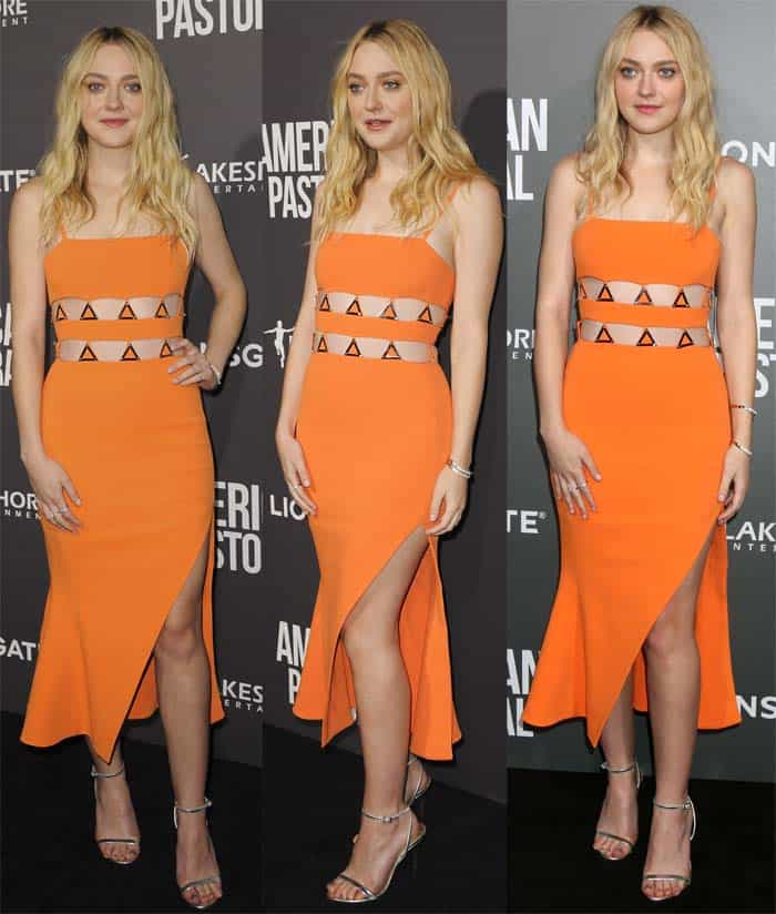 Dakota Fanning is not only an extremely talented actress but also a flawless style star