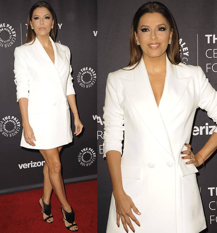 eva-longoria-vatanika-white-blazer-dress