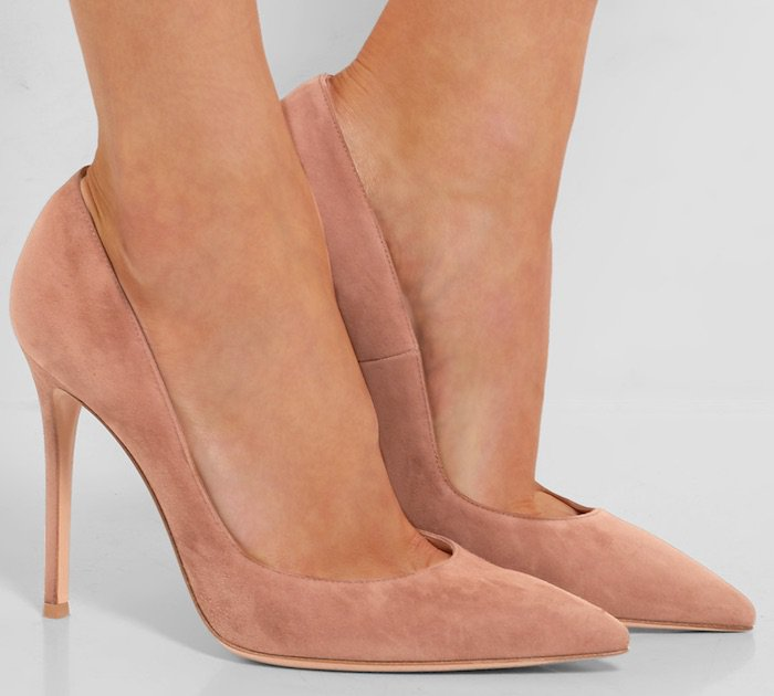 Gianvito Rossi patent pumps