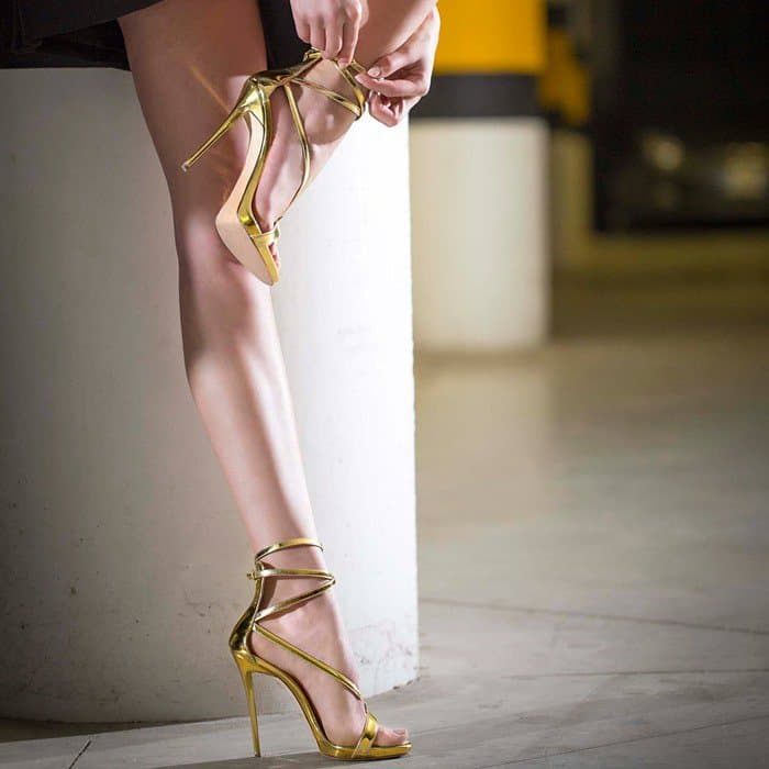 "Giuseppe Zanotti ""Maryjane"" Sandals"