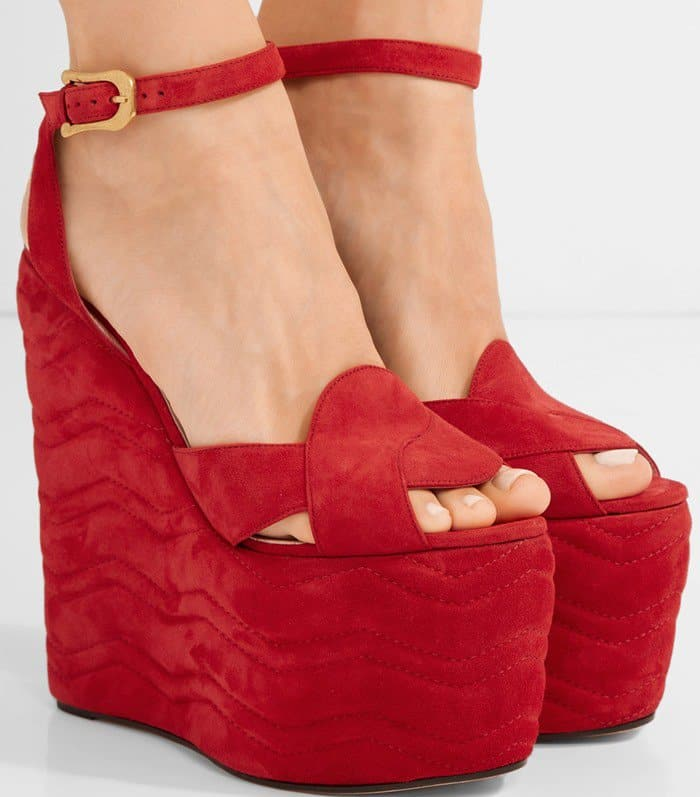 gucci-quilted-suede-wedge-sandal
