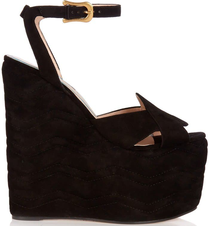 gucci-quilted-suede-wedge-sandals-black-suede