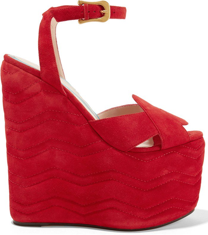 gucci-quilted-suede-wedge-sandals