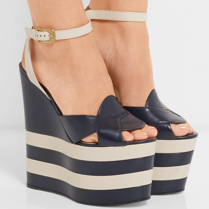 gucci-two-tone-leather-wedge-sandal