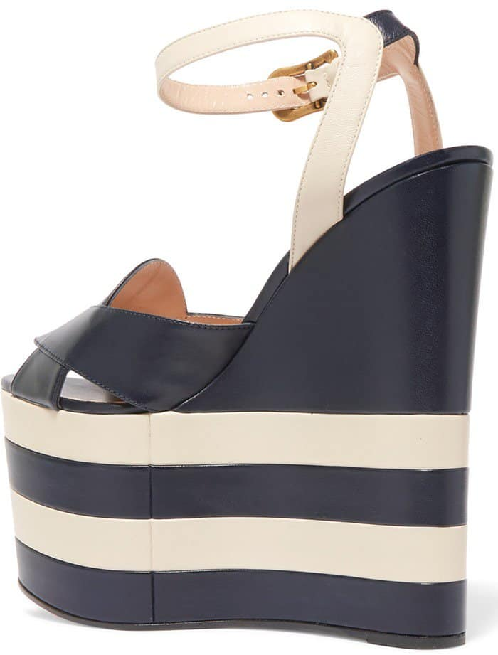 gucci-two-tone-leather-wedge-sandals-striped