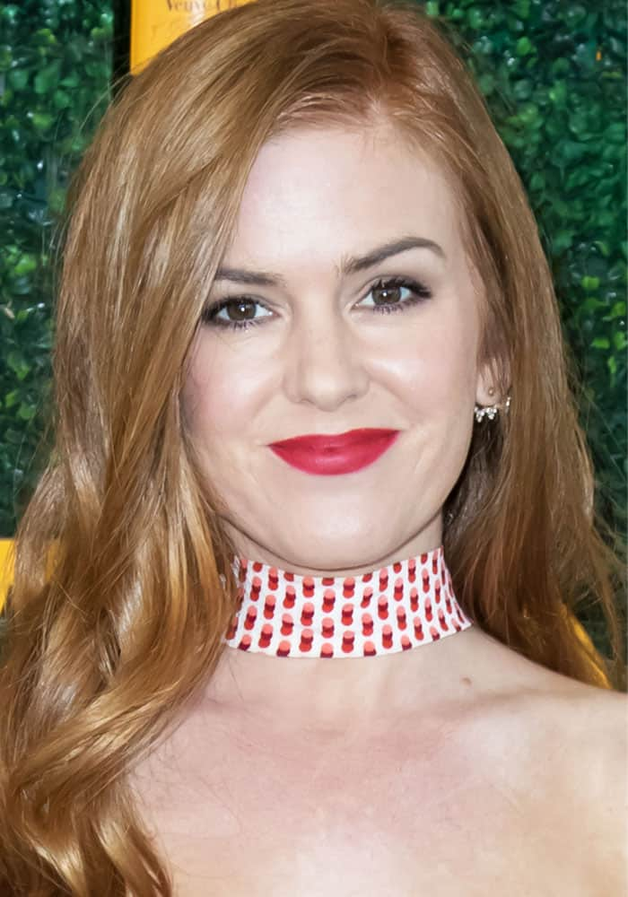 Isla Fisher at the 7th annual Veuve Clicquot Polo Classic at the Pacific Palisades on October 15, 2016