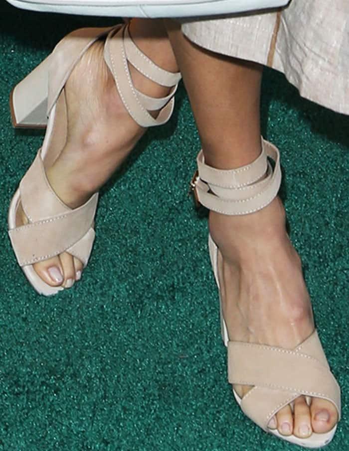 jamie-chung-7th-veuve-clicquot-wrap-block-sandals-3