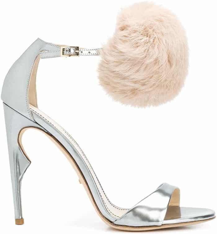 jerome-c-rousseau-metallic-malibu-pom-pom-sandal