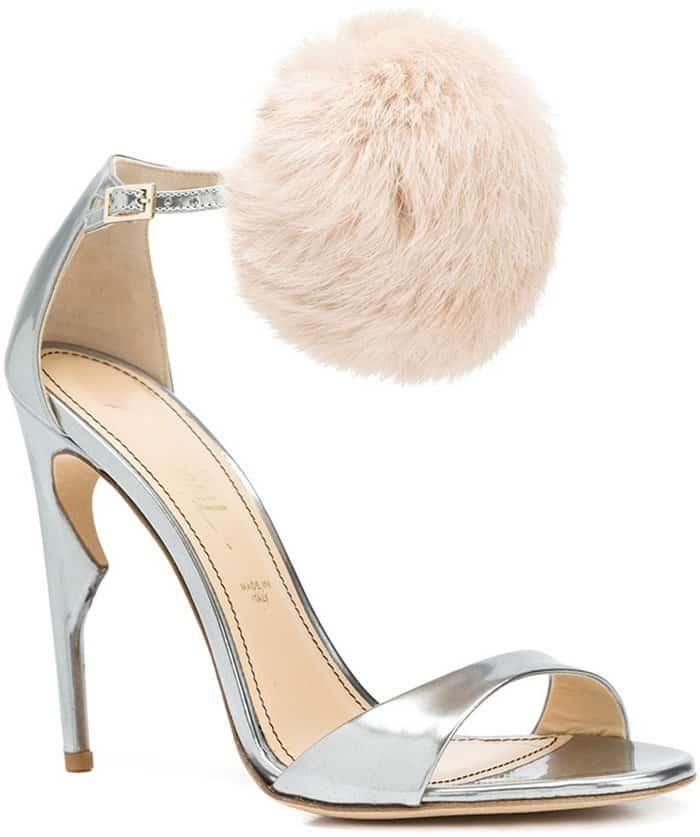 jerome-c-rousseau-metallic-malibu-pom-pom-sandals