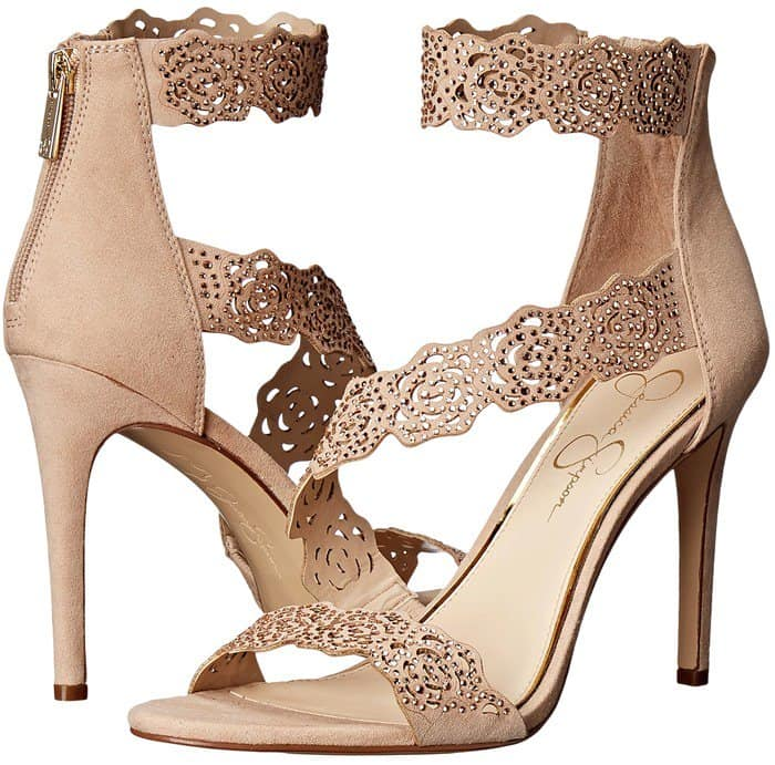 Jessica Simpson 'Geela' Crystal Embellished Sandals