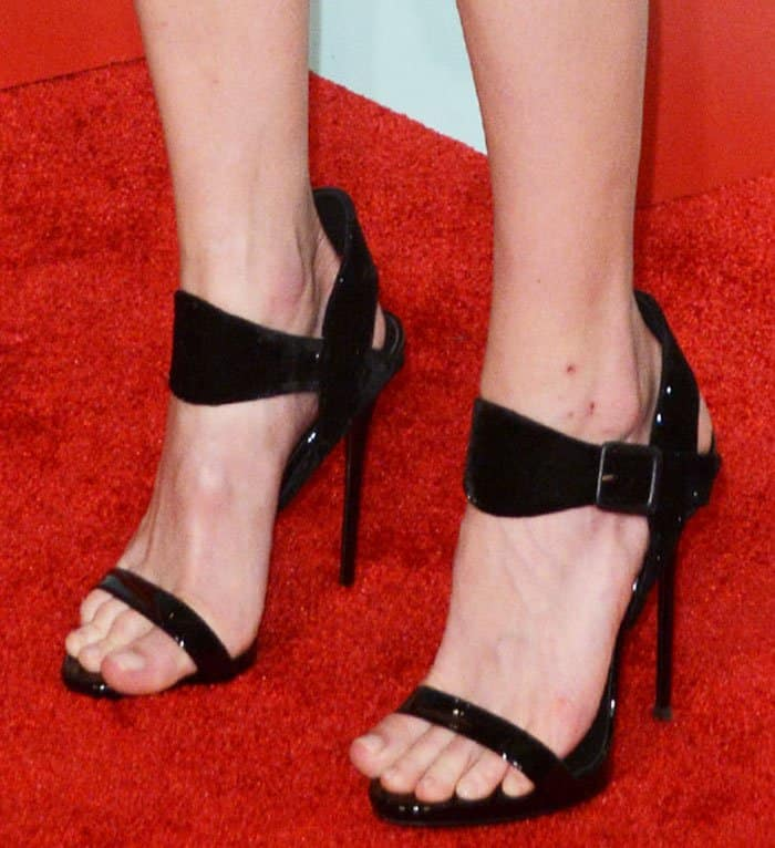 Kate Bosworth Stuns In Giuseppe Zanotti Cassie Heels