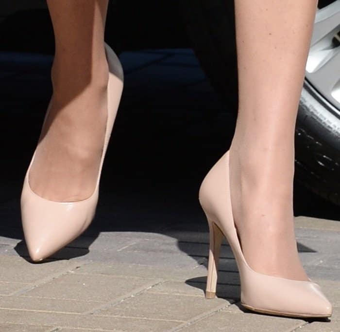 "Kate Middleton's L.K. Bennett ""Fern"" pumps in nude"