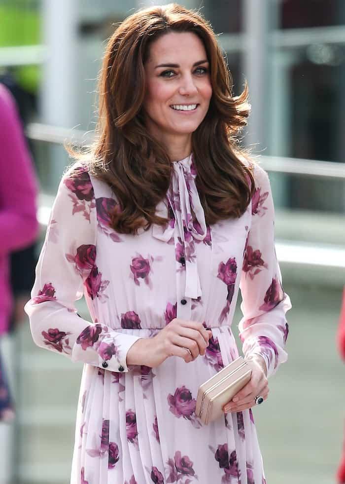 Kate Middleton'sKate Spade chiffon dress