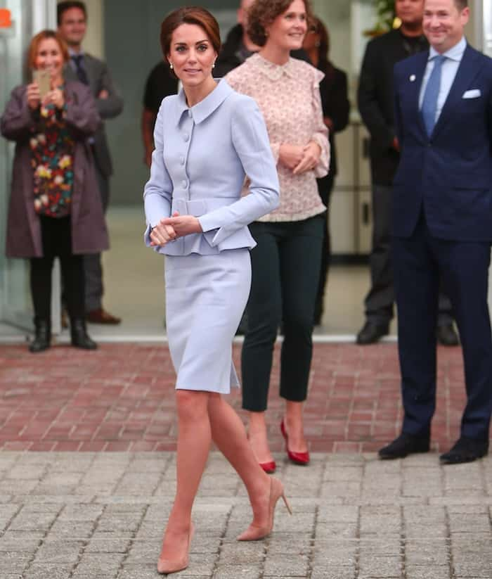 Kate Middleton reminded us of a young Jacqueline Kennedy Onassis in this outfit