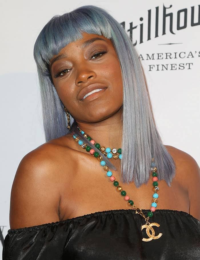 keke-palmer-blue-gray-hair-neutral-makeup