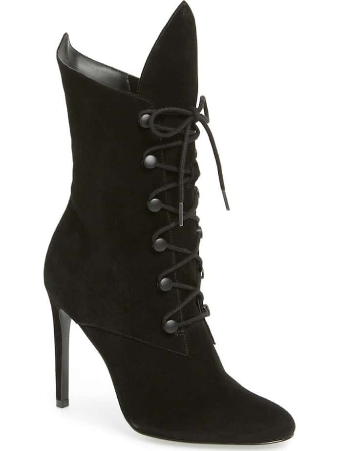 """KENDALL + KYLIE """"Maya"""" Lace-Up Bootie"""