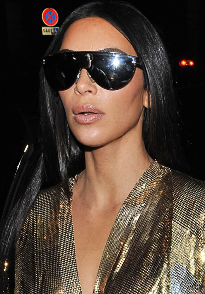 Kim Kardashian was behind her husband Kanye 100 percent