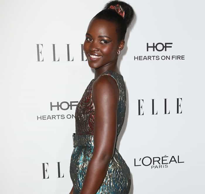 Lupita Nyong'o accessorized with APM Monaco jewelry