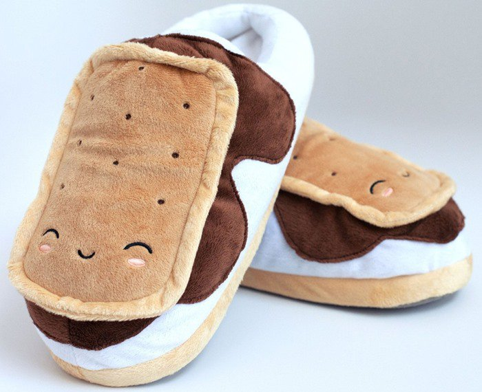 Marshmallow Out USB Foot Warmers