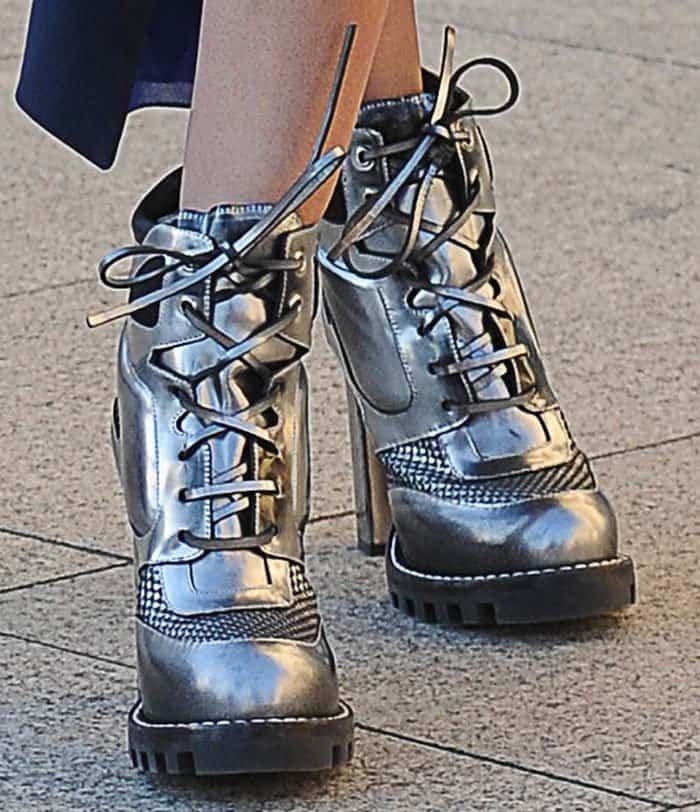 miranda-kerr-louis-vuitton-metallic-silver-ankle-boots