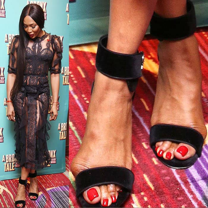 Ugly black celebrity feet