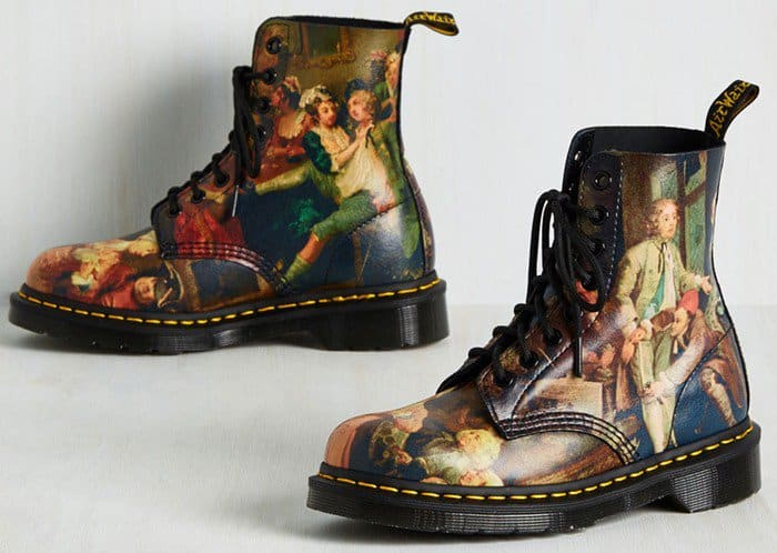 Dr. Martens Off to a Good Art Leather Boots