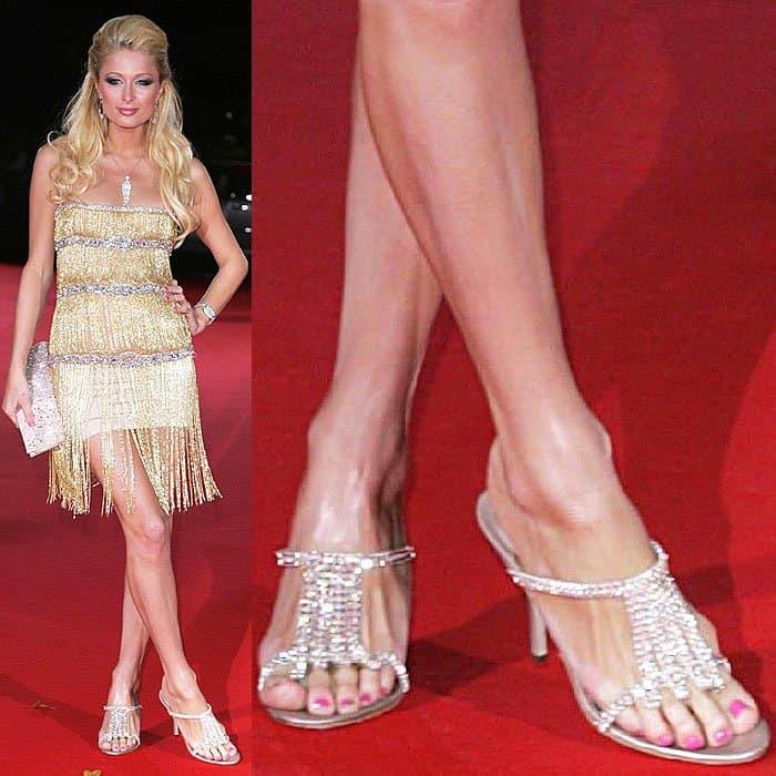 Paris hilton feet — 2