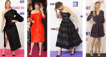 Renee Zellweger Stylishly Promotes Bridget Jones Baby In Europe